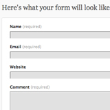 How to add a contact form on a WordPress.com hosted website
